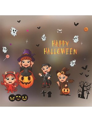 Halloween Gorgeous Paper Static Stickers