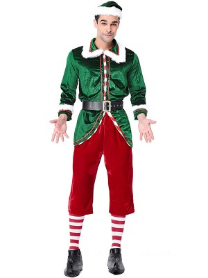 Gorgeous Polyester With Belt Christmas Clothes For Men