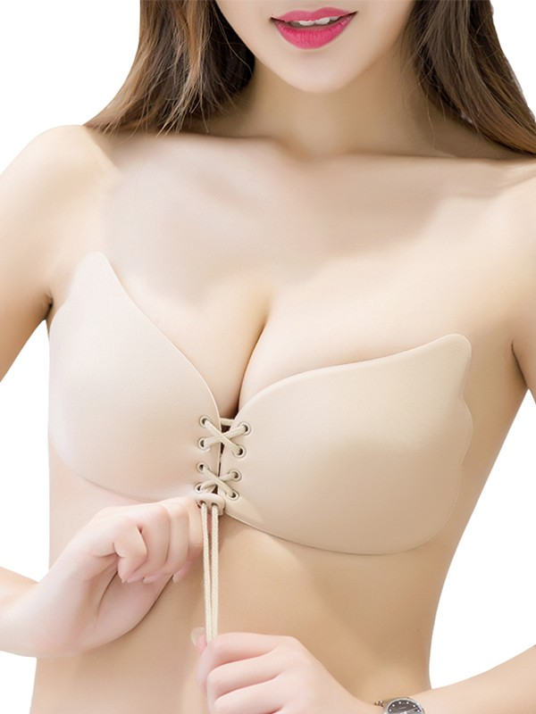 Pretty Looks Silicone 3/4 Cup Strapless Invisible Bra