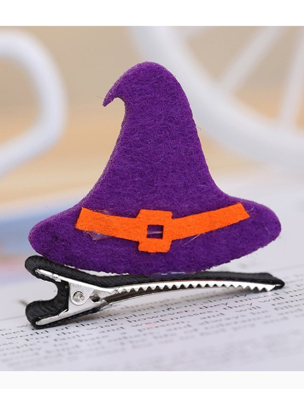 Halloween Nice Metal With Hat Hairpins For Children