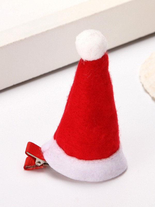 Christmas Stunning Cloth With Hat Hairpins