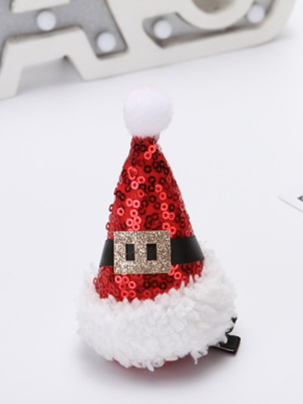 Christmas Cute Cloth With Hat Hairpins