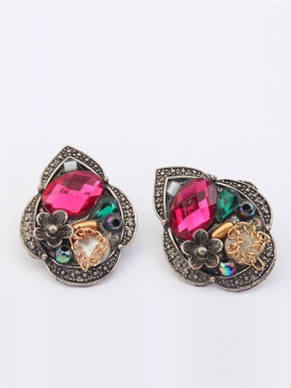 Occident Exotic Retro Personality Stud Hot Sale Earrings