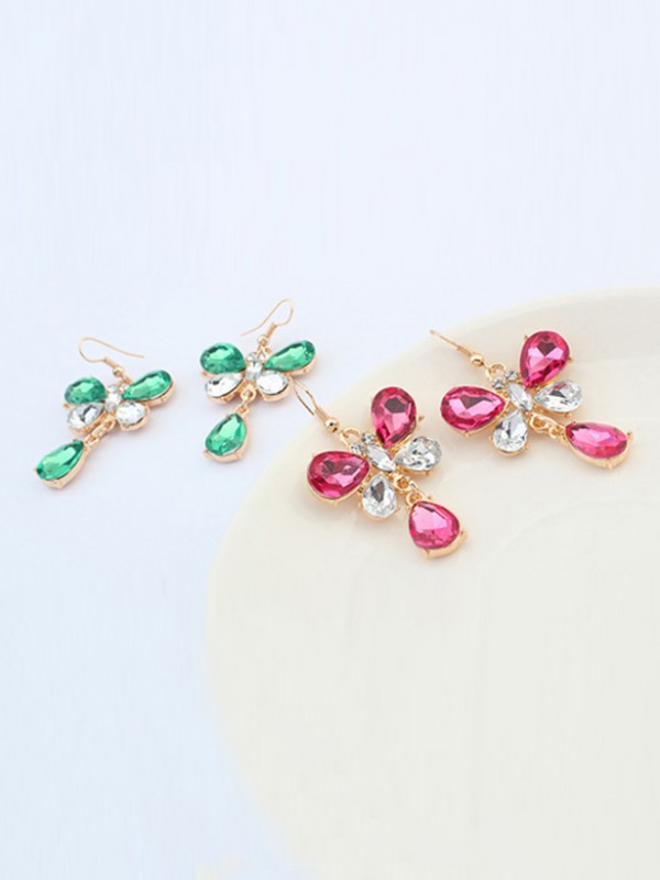 Occident Stylish New Butterfly Hot Sale Earrings
