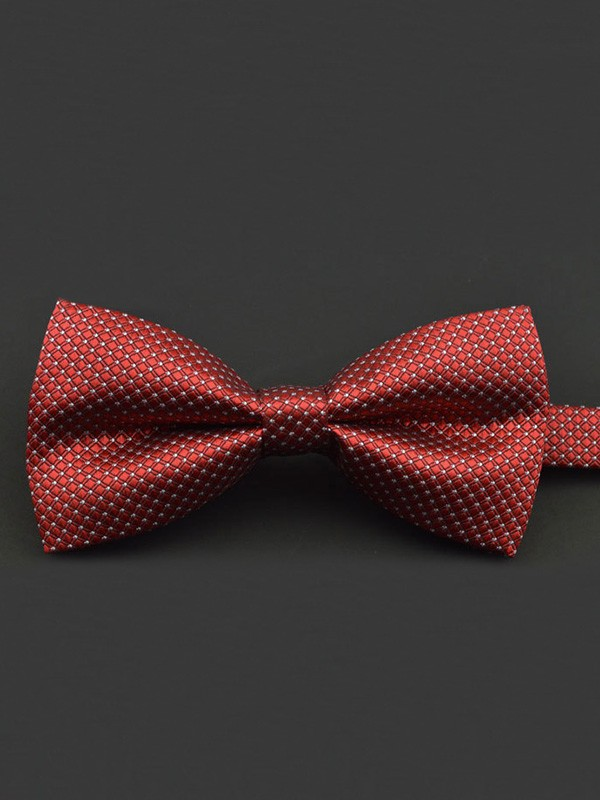 Formal Polyester Bow Tie