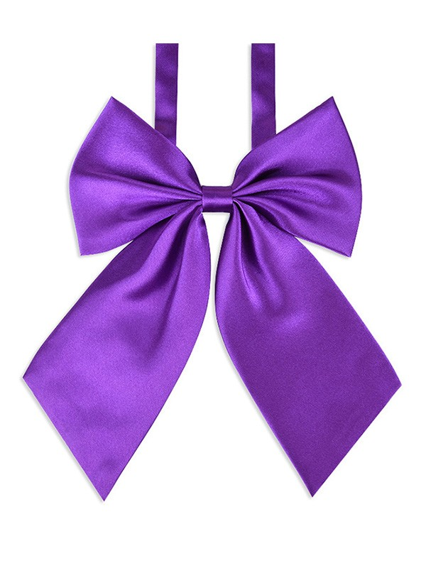 Delicate Polyester Bow Tie For Women