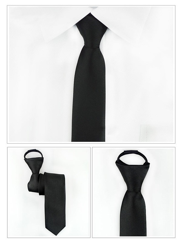 Classic Modern Polyester Tie