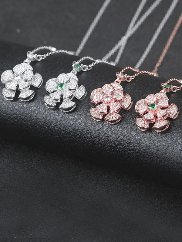 Gorgeous S925 Silver Women's Hot Sale Necklaces
