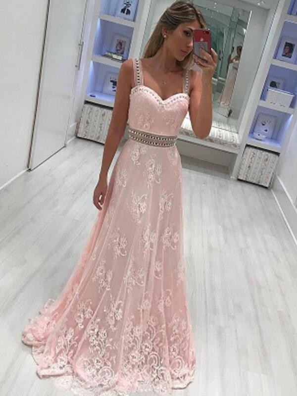 Yours Truly Princess Style Sweetheart Floor-Length With Applique Satin Dresses