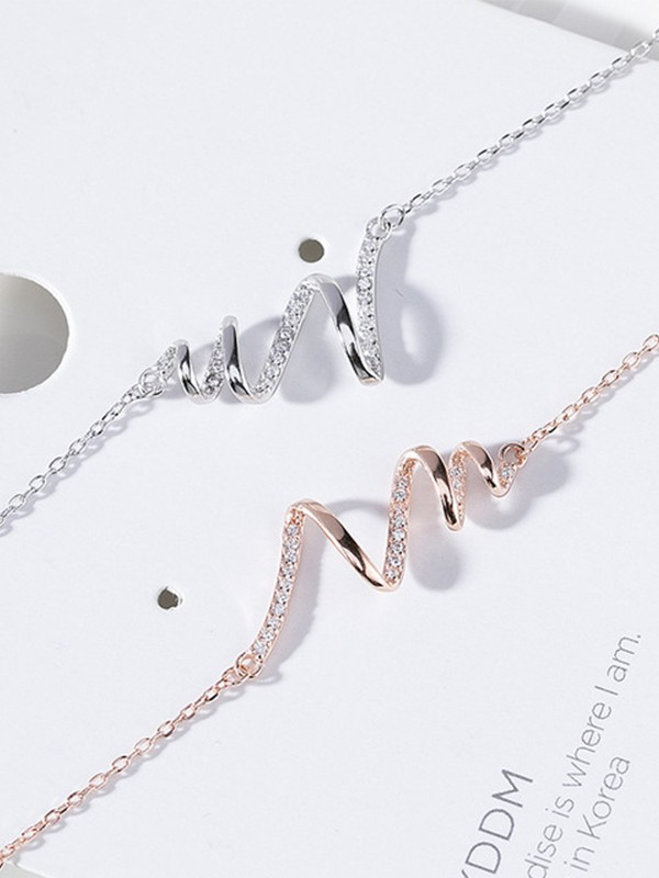 Trending S925 Silver Hot Sale Necklaces For Ladies