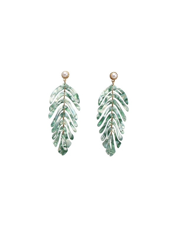 Fancy Alloy With Leaf Hot Sale Earrings