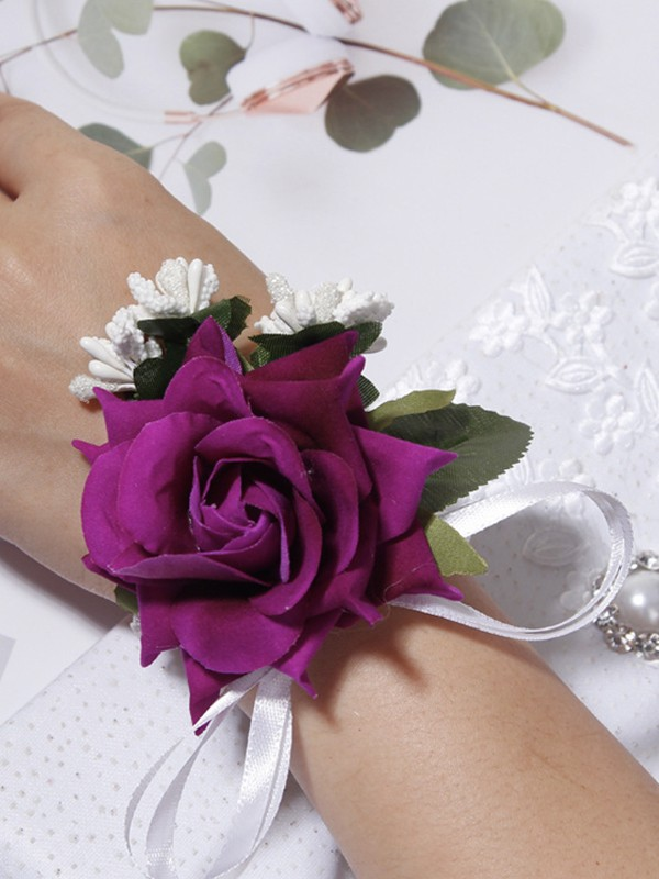 Sweet Cloth Wrist Corsage
